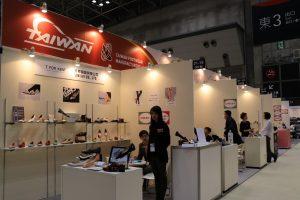 台灣鞋業展館,廠商希望透過參展,尋求OEM合作及推廣自有品牌。