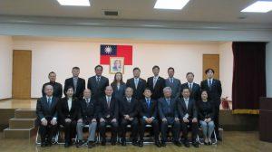 僑務委員長吳新興與橫濱華僑總會理監事舉行座談