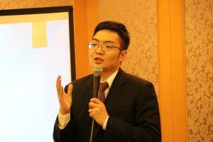 亞洲台灣商會聯合總會青商會會長吳國本受邀抵日進行專題演講