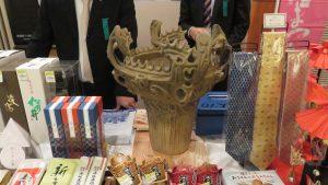 繩文時代的火焰型陶器國寶