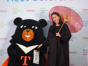 台湾観光イメージキャラクターに任命された女優の長澤まさみさんが登壇