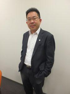 トランスアジア航空日本支店の江許賢支社長