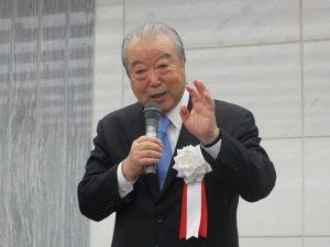 日台スポーツ・文化推進協会の松本彧彦理事長