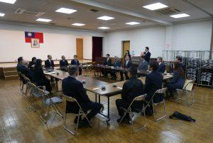 吳委員長訪視橫濱僑會與幹部座談