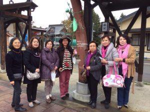 參加研習的會員拜訪三國街道觀光區