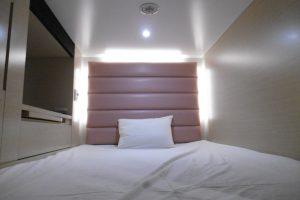 客室比一般膠囊旅館寬敞