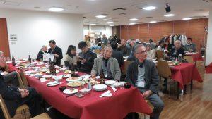 大家聆聽會員訴說與台灣淵源