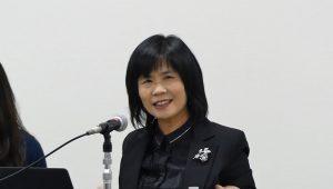 節税をはじめとする様々なメリットを説明する宋秀玲司長
