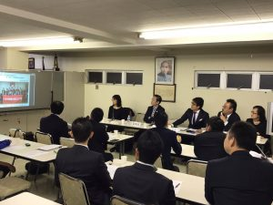 青年部理監事會議 22名成員參加