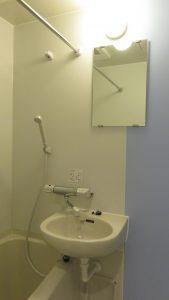 新建物的浴室