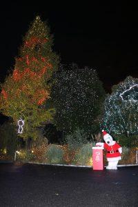 史努比邀請大家來看聖誕燈光秀©Peanuts