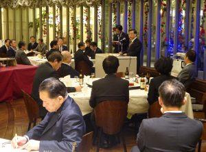駐札幌辦事處處長陳桎宏受邀在北海道議會日台親善議員會發表演講