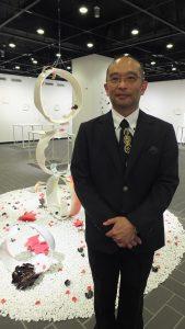 台湾出身の陶芸家・張義明さん