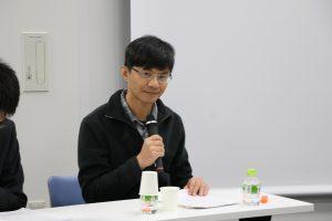 甘耀明參加1月21日在台灣文化中心舉辦的「作家甘耀明筆下台灣文學的日本意象」國際研討會
