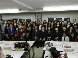 東京台灣商工會第二十一屆第一次理監事會後大合照