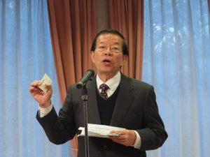 謝代表は代表処の名称改名にも期待の意を示した