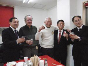 華僑總會與華廚會所先進合照