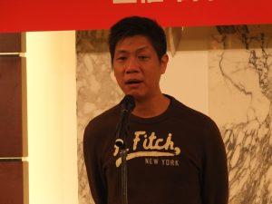 同訪問団の責任者である這虎音樂の趙家駒さん