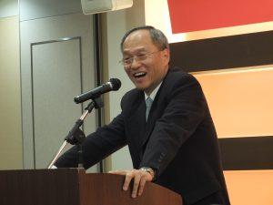 大阪を訪れた僑務委員会の呉新興委員長