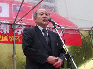 中華民国留日大阪中華総会の洪里勝信会長
