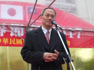 台湾僑務委員会の呉新興委員長